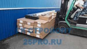 Отправка в Южно-Сахалинск фасадных панелей